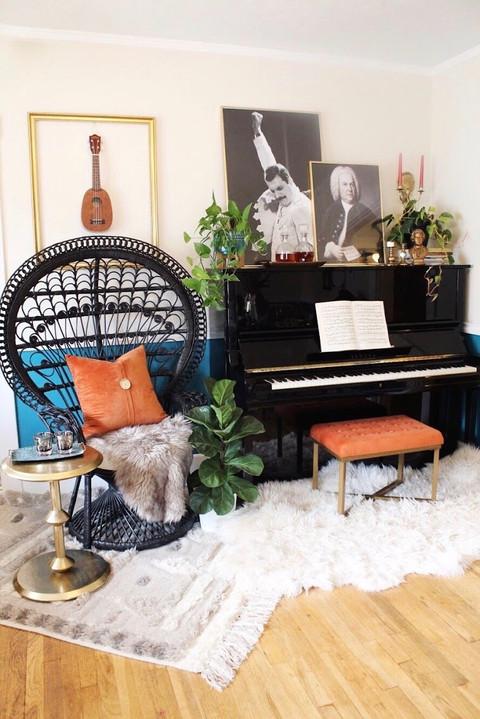 The #royallybohoglam Living Room