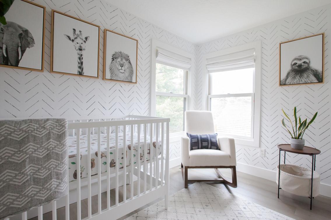 Bright & Minimal Nursery