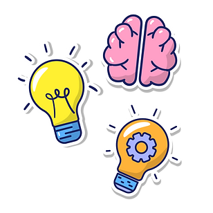 —Pngtree—t bulb and brain vector_5444237