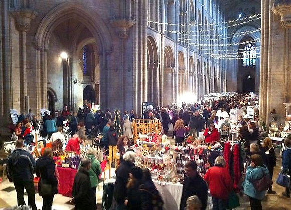 Ely Cathedral Christmas Market: November 2021