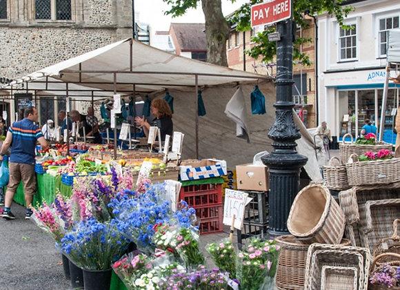 Bury St Edmunds Market Day: June 2021