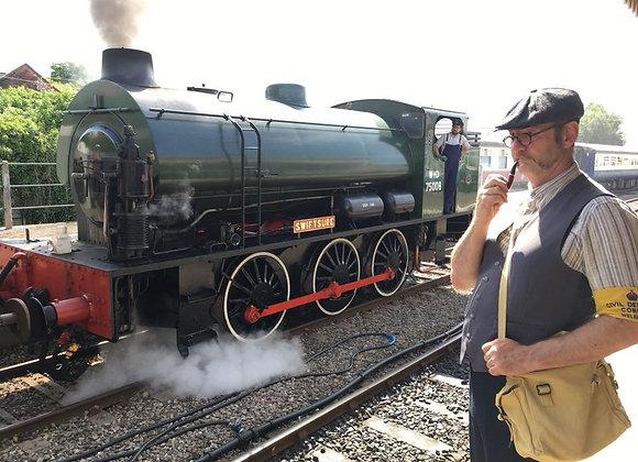 Mid-Norfolk Railway-1940s Railway at War: August 2021