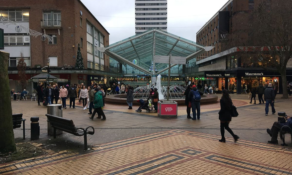 A Day In Coventry: October 2021