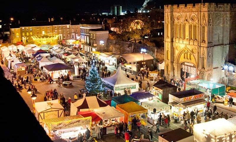 Bury St Edmunds Christmas Market: November 2021
