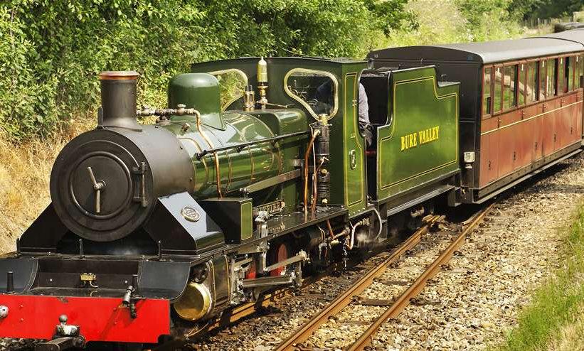 Bure Valley Railway: May 2021