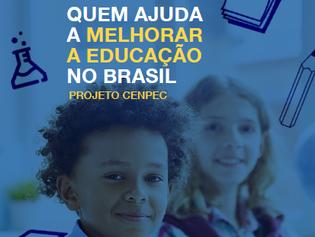 Ajudando quem ajuda a melhorar a educação no Brasil