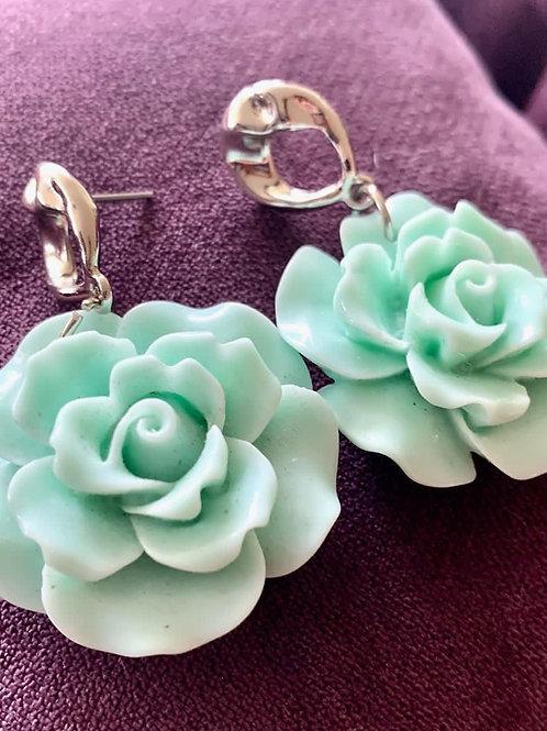Brinco Green Flower