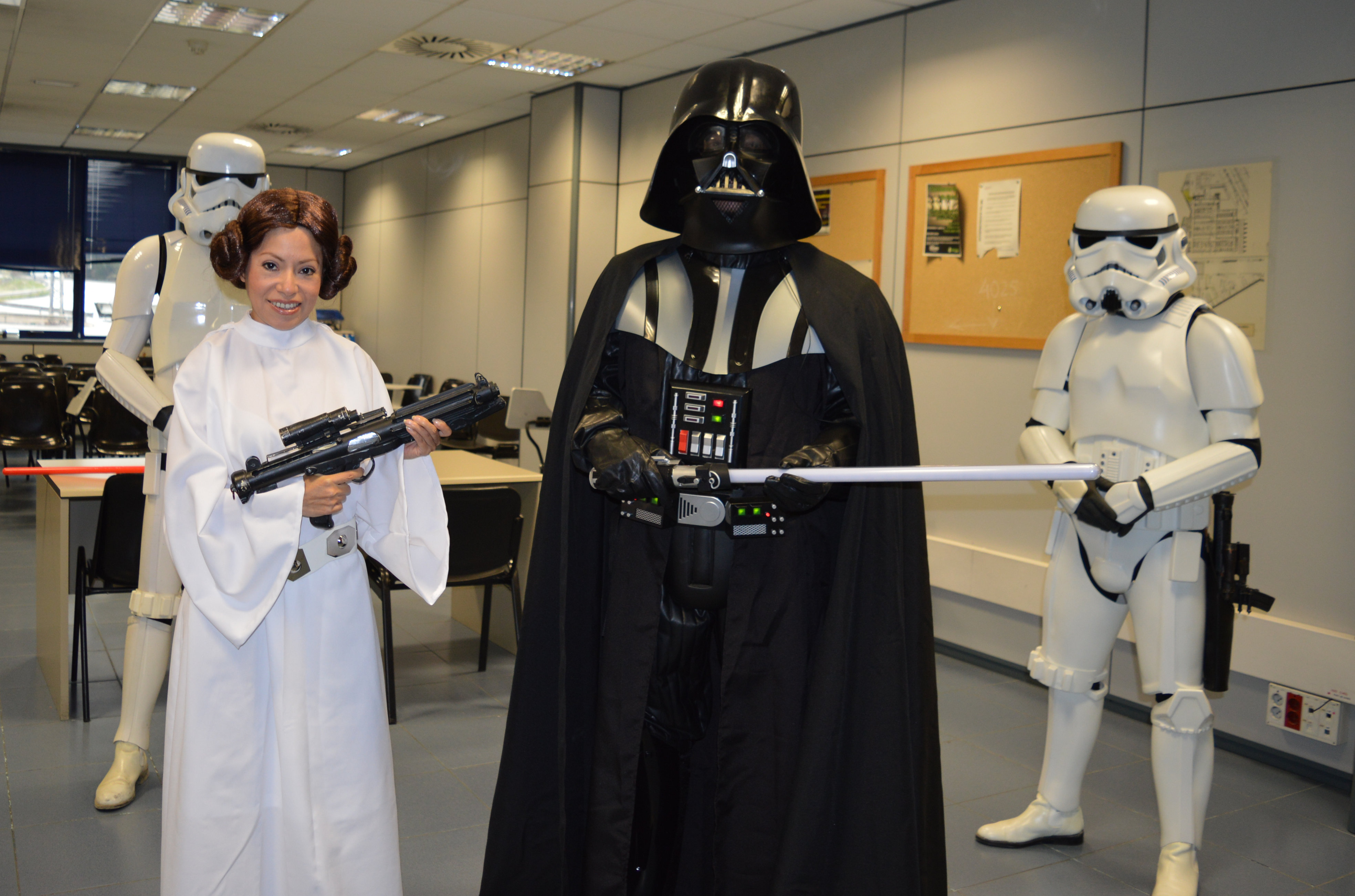 Personajes Star Wars para Bodas