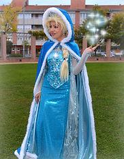 Fiesta Frozen, Animación Infantil. Elsa animadora cantante en Barcelona.