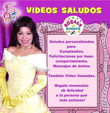 Vídeos Saludos Personalizados con personajes Disney. Regalos originales.