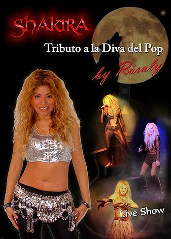 Animadora cantante en Barcelona. Show musical Tributo a Shakira para Bodas, cumpleaños.