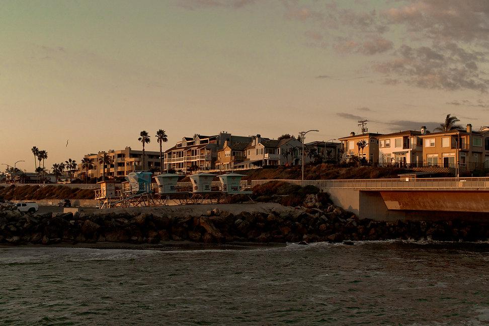 Carlsbad California waterfront