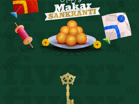 May you soar high with success just like your kites this Makar Sankranti. #goldenkey