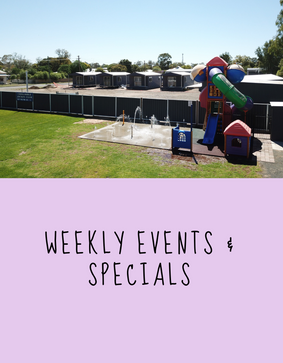 Weekly specials 7 events