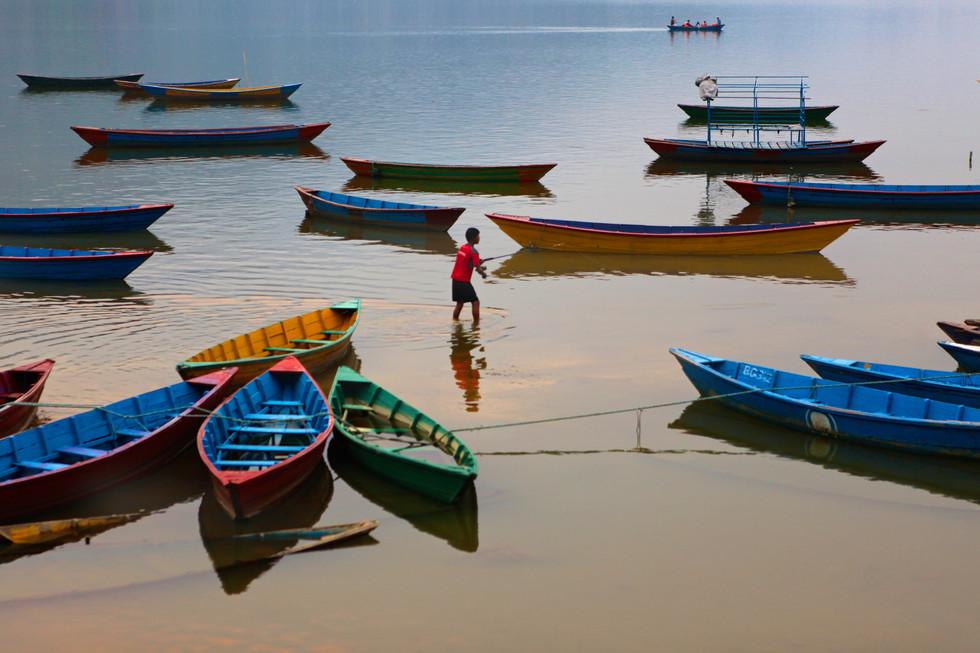 Pokhara Fisherman
