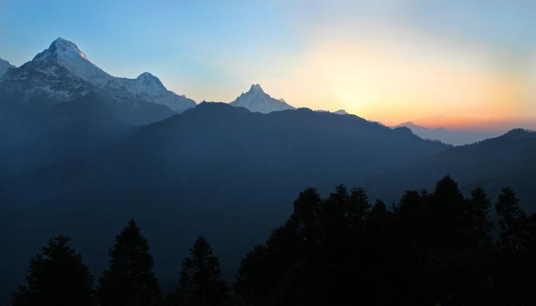 Annapurna Sunset