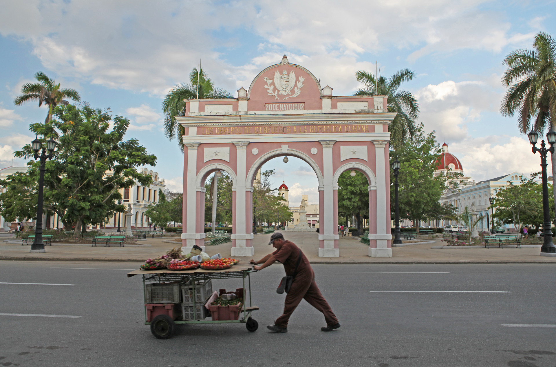 Cienfuegos Fruit Cart