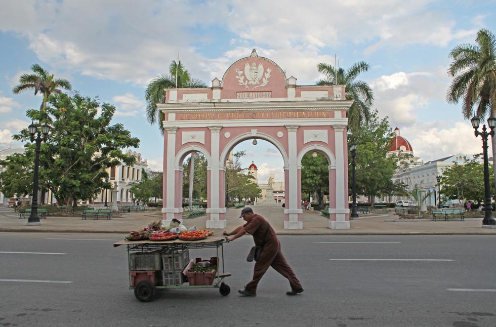 Cienfuegos Fruit Cart