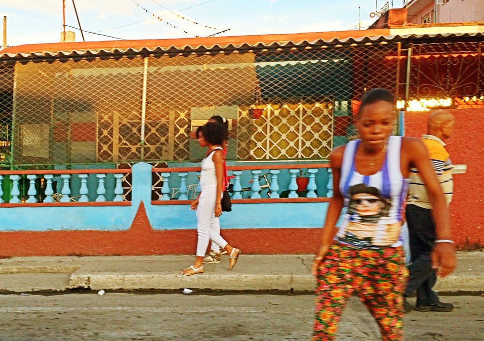 La Habana Pedestrians