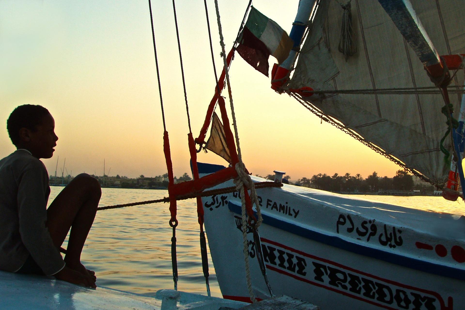 Boy on the Nile