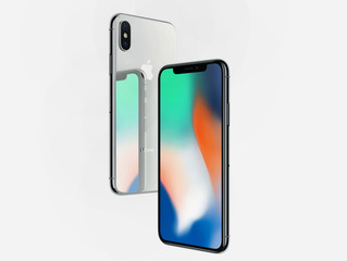 Iphone X –några tidiga intryck