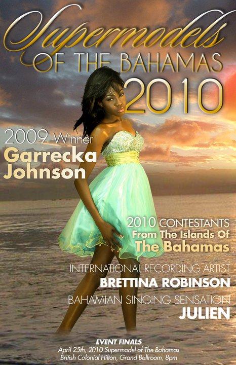 Supermodel 2009 Garrecka Johnson