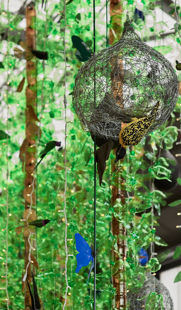 Watershed Chandelier Woodland Forest 2 (