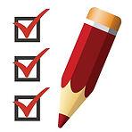 92147845-pencil-icon-with-checklist-vect