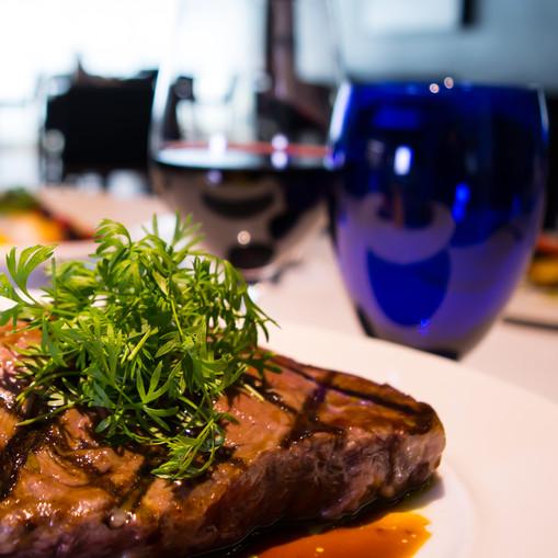 Steak and Sauce