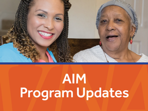 Advanced Illness Management Program Updates