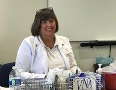 Meet Karen Krus, RN, Vaccination Nurse