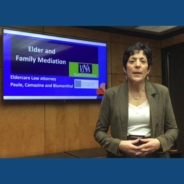 Today's Weekly Medical Moment on Elder Mediation with Deb Schuster