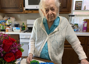 105-Year-Old Hospice Patient Helen Worthen Finds Family Through VNA's Care