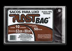Plastili Saco de Lixo em Plast Bag 50L