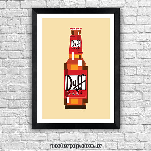 Poster Duff Pixel