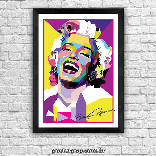 Poster Marilyn Monroe Colors