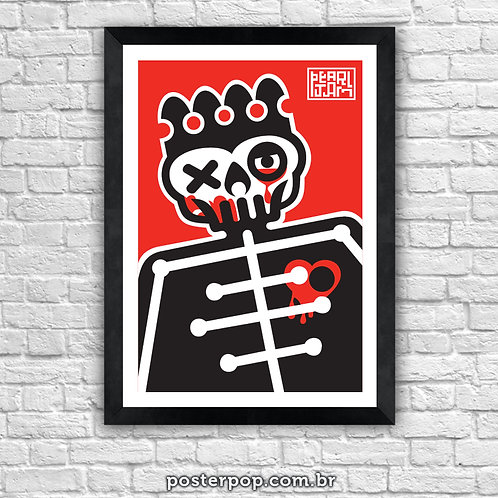Poster Pearl Jam - Riot Act