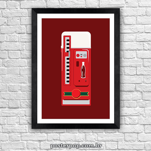 "Poster ""Coke Machine"""