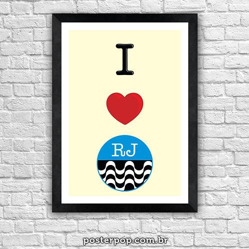 Poster I Love RJ