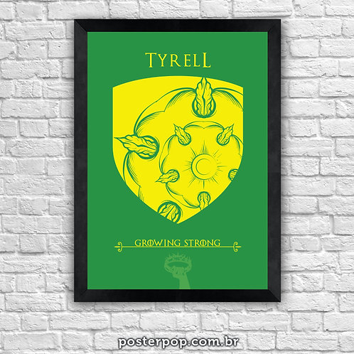 Poster Game Of Thrones - Tyrell House