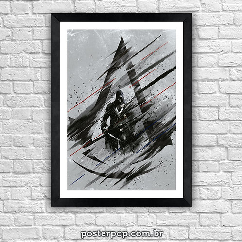 Poster Assassin's Creed Cinza