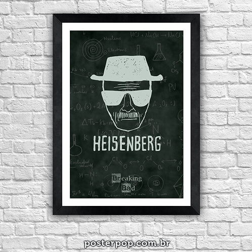 Poster Breaking Bad - Heisenberg