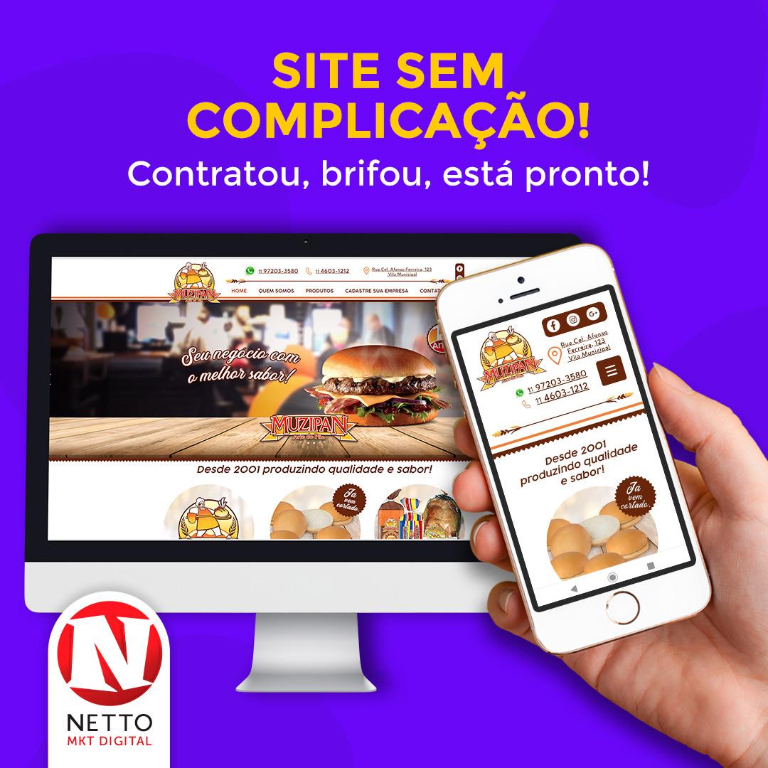Sites e Landing Page Netto Propaganda