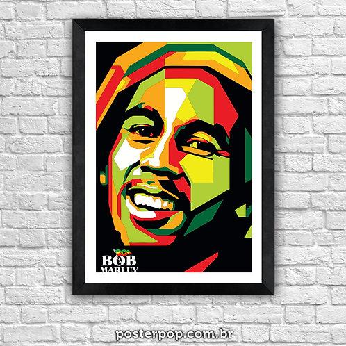 "Poster ""Bob Marley Smile"""