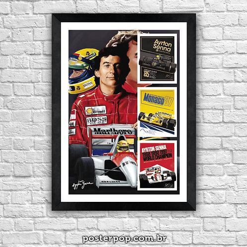 Poster Ayrton Senna