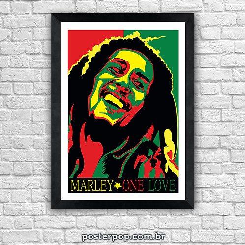 "Poster ""Bob Marley One Love"""