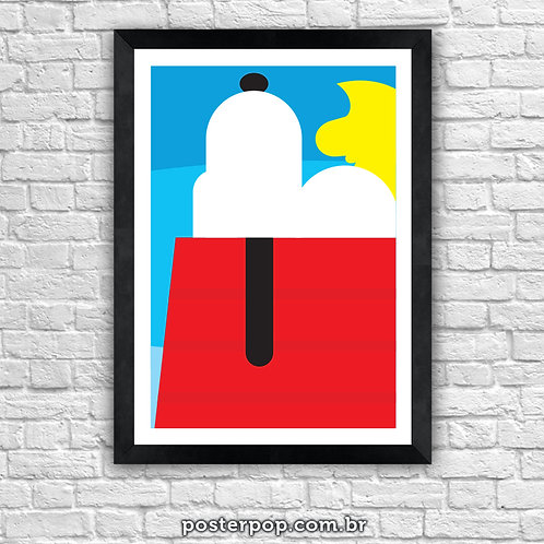 Poster Snoopy Big