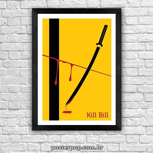Poster Kill Bill Minimalista