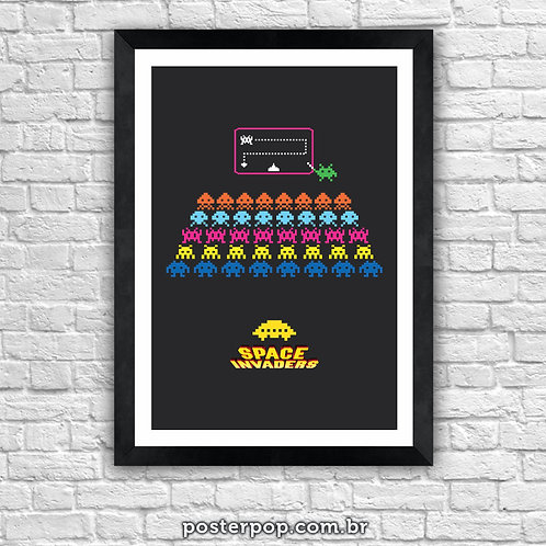Poster Space Invaders Master Class