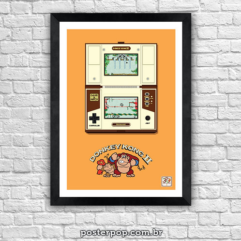 Poster Donkey Kong II - Game & Watch